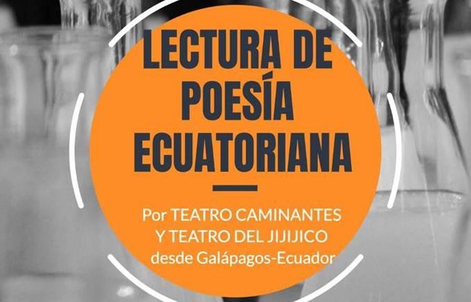 Lectura de poesía ecuatoriana